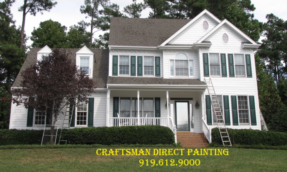 Raleigh house painting craftsman direct blog windows doors siding painting remodeling for Exterior painting greensboro nc
