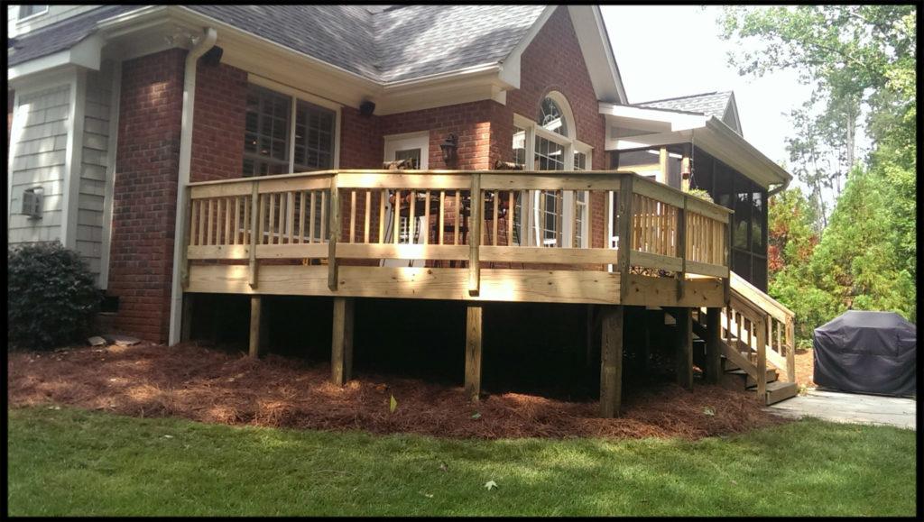 Craftsman Direct, Durham Handyman, Deck Construcion